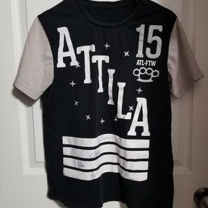 Tops - 🎶AUTOGRAPHED Attila shirt